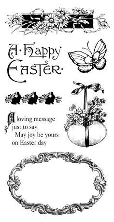 Graphic 45 Sweet Sentimental Easter Hampton Art by SewScrappin Graphic 45, Scrapbook, Bunny Images, Spring Images, Hampton Art, Clip Art, Card Sentiments, Digi Stamps, Vintage Paper