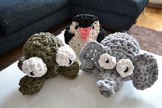 De nieuwe LITM familie: Ollie, Pingu en Kermit!