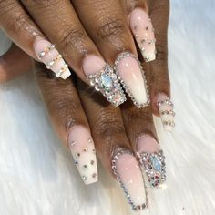 "525 Likes, 3 Comments - Topline Nails & Spa (@toplinenails) on Instagram: "", Gorgeous nails done by Tracy ✨ @toplinenails @sugarandcream @diy.simple.nails #ombre…"""
