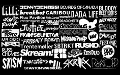 music daft punk justice dubstep the prodigy the bloody beetroots skrillex nero air boys noi Wallpaper Dead Mau5, Dada Life, Flux Pavilion, Eric Prydz, Knife Party, Dillon Francis, Memory Games For Kids, Artist Logo, Daft Punk