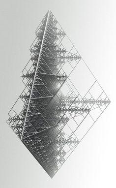 Forme - Noir et blanc - Structure