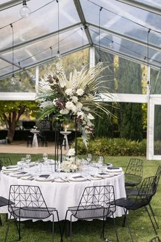 Marquee Wedding Inspiration, Wedding Ideas, Centerpieces, Table Decorations, Boho, Studio, Flowers, Projects, Furniture