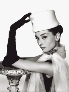 Audrey Hepburn photographed by Richard Avedon.