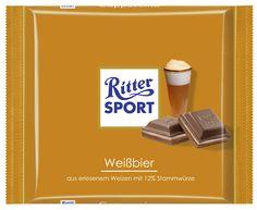 RITTER SPORT Fake Schokolade Weißbier