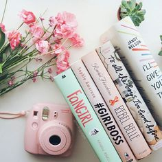 more pastel spines to satisfy your/my easter lovin' needs are you doing anything to celebrate? #easter #pastelbooks #instaxmini8 by twirlingpages