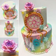 Dream catcher cake @tessmcx