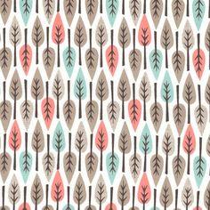 Cloud 9 Organic Fabric My Happy Nursery Leaves Shell by fabricworm
