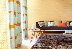 Scion Blog | Adding Accent Accessories | Scion - Designer Fabric and Wallpapers #orange #colour #interior