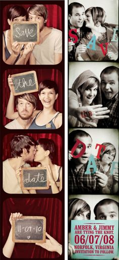 "50 ""Save the Date""Photo Ideas 
