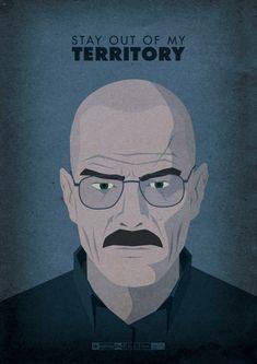 62 posters de Breaking Bad que você vai querer ter na sua parede