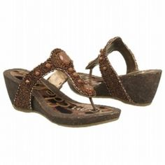 SALE - Sam Edelman Nik Wedge Heels Womens Bronze Leather - Was $150.00 - SAVE $8.00. BUY Now - ONLY $142.50.