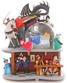 Disney Sleeping Beauty Snowglobe I want this for the sheer fact she is in the blue dress!!!