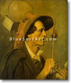 Blind Musician - £124.99 : Canvas Art, Oil Painting Reproduction, Art Commission, Pop Art, Canvas Painting