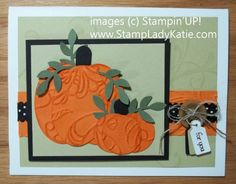 Pumpkin Punch Art - Texture Embossed