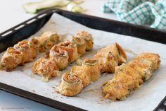 Spiedini di zucchine al forno - CuciniAmo con Chicca
