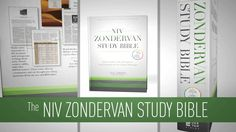 The NIV Zondervan Study Bible is built on the truth of Scripture and centered on the gospel message.