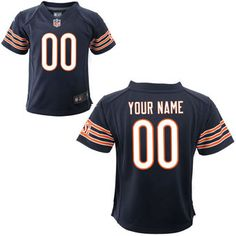 c3a926dc8 Nike Toddler Chicago Bears Customized Team Color Game Jersey Nfl Jerseys  For Sale