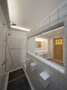 herenhuis Heemraadssingel // badkamer op de tweede verdieping ...