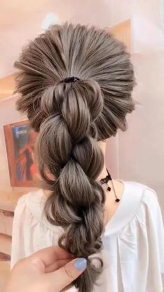 Step By Step Hairstyles, Easy Hairstyles For Long Hair, Braids For Long Hair, Amazing Hairstyles, Medium Length Wedding Hairstyles, Simple Hairstyles For Long Hair, Business Casual Hairstyles, Casual Updos For Long Hair, Shoulder Length Hair