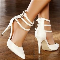 Escarpins femmes taille 37 couleur:Blanctalons de 11 cm