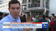 WATCH: Police Do Nothing as Trump Supporters are Beaten Right in Front of Them -----  San Jose, CA — America is in a crisis of consciousness — nothing highlights this notion quite like the clashes at political rallies across the country. We've seen Trump supporters attack Bernie sup…