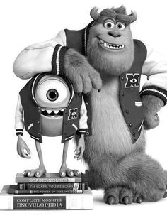 Mike and Sulley are returning to the big screen 12 years after their original Monsters, Inc. Monsters University, which hit theaters on Friday, is an Disney Pixar, Film Disney, Disney Movies, Disney Stuff, Disney Characters, Monsters Inc, Famous Monsters, Monster University, Cellphone Wallpaper