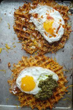Hash Brown Waffles // shutterbean