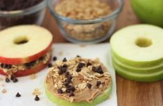 Use apples and peanut butter to make this kid-friendly snack.