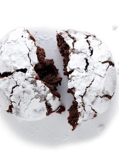 chocolate crinkles - egg, nut & dairy free
