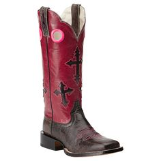 Ariat Women's Ranchero Broad Square Toe Western Boots