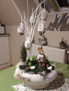 Spring Projects, Garden Art, Planter Pots, Easter, Ideas, Yard Art