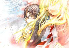Anime Shigatsu Wa Kimi No Uso  Kaori Miyazono Wallpaper
