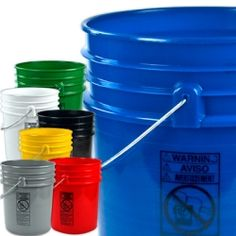Where to buy buckets for stockpiling