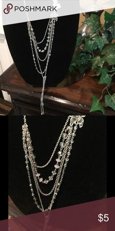 Express statement Crystal drop necklace Express statement necklace Express Jewelry Necklaces