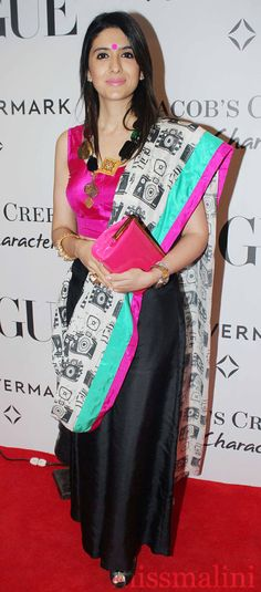 Quite like the Masaba attire... love the accessories too