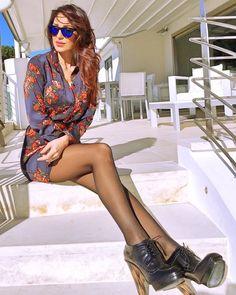 Anna Tatangelo @_annatatangelo_ in HawkersCo... - Fuck Yeah Sunglasses