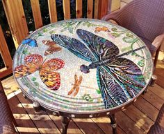 Мозаичный столик More