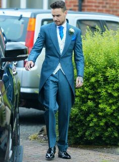 Liam at his sister's wedding!