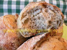 Kváskové chlebánky Bread, Food, Brot, Essen, Baking, Meals, Breads, Buns, Yemek
