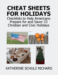 Cheat Sheets for Holidays: Checklists to Help Americans P... https://www.amazon.com/dp/B01CDLUN3C/ref=cm_sw_r_pi_dp_9.xzxb8ZMW6T5
