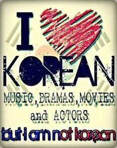 I <3 Korean things hahaha yup that's me!!!!!