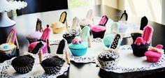 high heels cupcakes