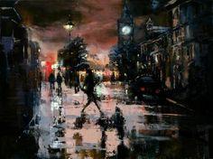"Saatchi Art Artist Eva Czarniecka; Painting, ""Rushing Home"" #art"