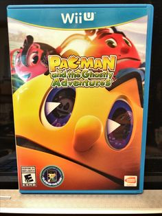 Nintendo Wii U PAC-man and the ghostly adventures