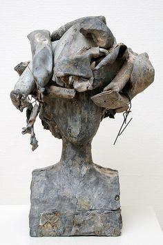 . Book Sculpture, Abstract Sculpture, Abstract Art, Pop Art Movement, Concrete Art, Modern Artists, French Artists, Terracota, Historical Art