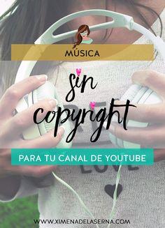 Música sin copyright para Youtube - Ep. 3 Serie Youtube http://ximenadelaserna.com/emprender/musica-sin-copyright-para-youtube-ep-3-serie-youtube/