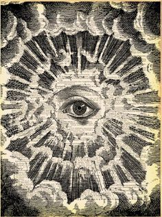 All Seeing Eye by Madame Bricolage