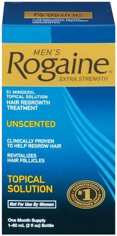 $18.79-$31.36 Rogaine for Men Hair Regrowth Treatment, Extra Strength Topical Solution, 2 Ounce - Rogaine Men's ES Hair Regrowth Treatment is clinically proven to help regrow hair by revitalizing hair follicles. http://www.amazon.com/dp/B0009RF9PA/?tag=icypnt-20