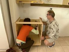 How to install cabinets