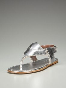 Cuff Flat Thong Sandal by Sigerson Morrison up to 60% off at Gilt